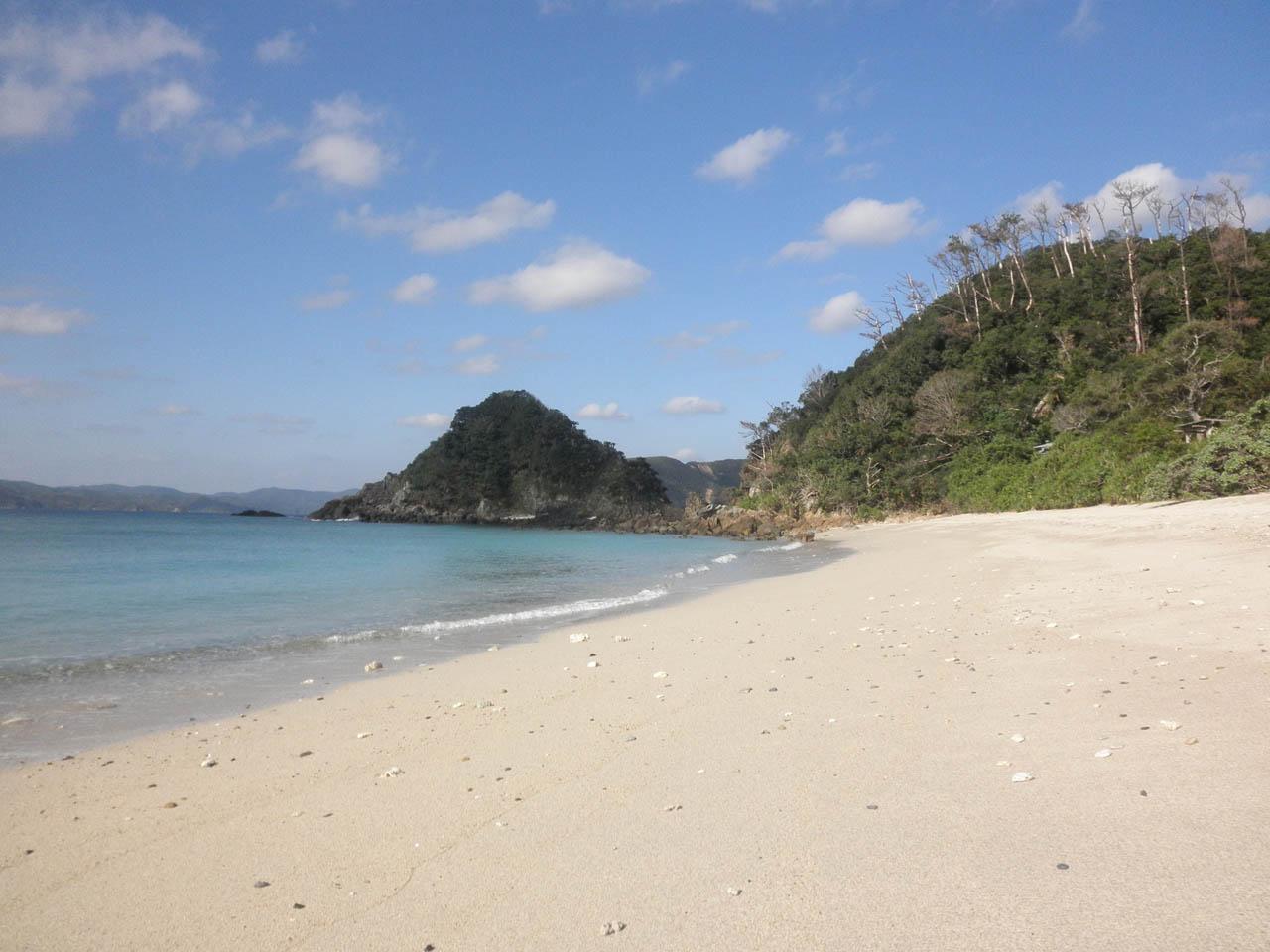小島と海辺